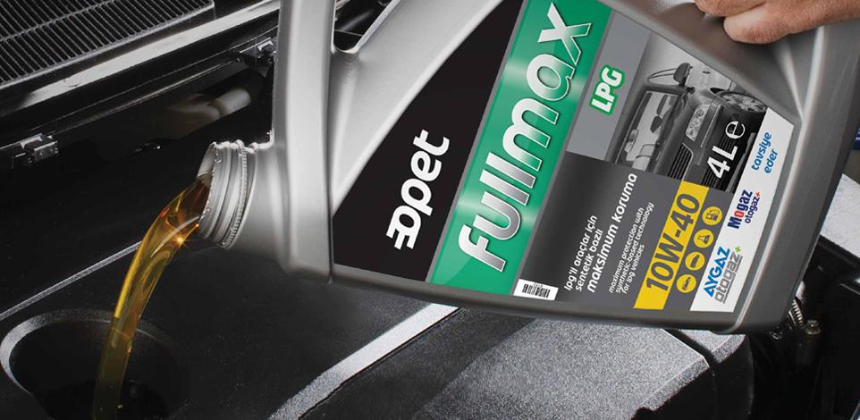 Aygaz Otogaz, LPG'li araçlara özel Opet Fullmax motor yağlarını tavsiye ediyor!